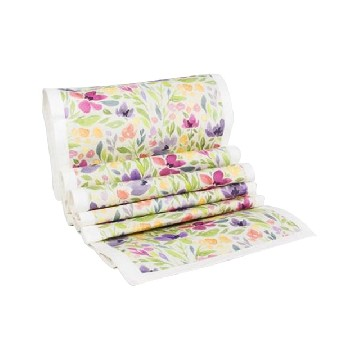 Table Runner Besar Bunga Cosmos - Seruni Living