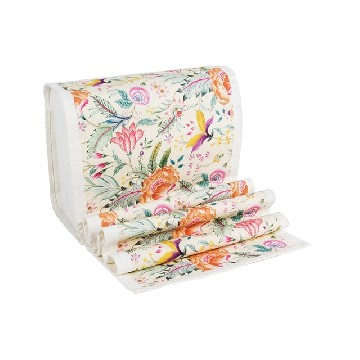 Table Runner Kecil Anyelir Cream - Seruni Living