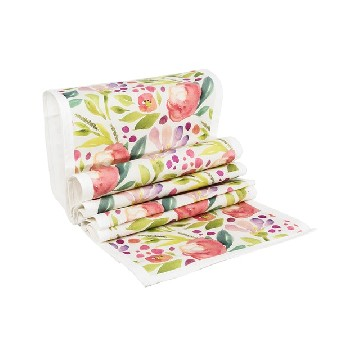 Table Runner Kecil MariGold Pink - Seruni Living
