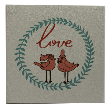 Wall Canvas (Other) Love Bird Couple - Seruni Living