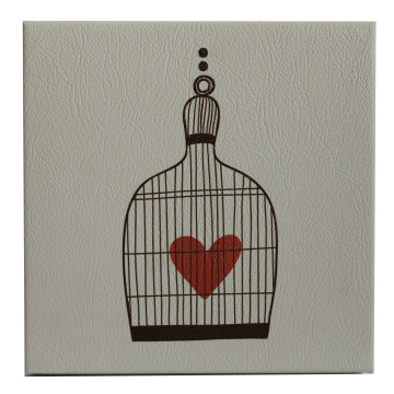 Wall Canvas (Other) Love In A Cage - Seruni Living