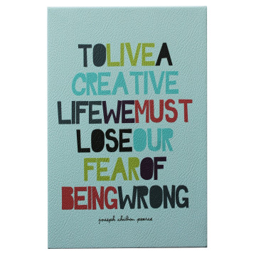 Wall Canvas Quote To Live Creative - Seruni Living