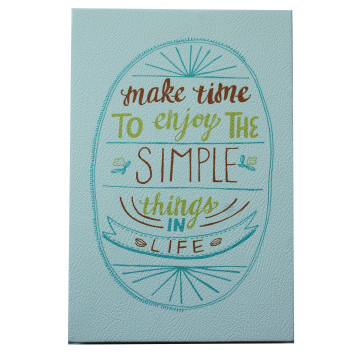 Wall Canvas (Quote) SIMPLE - Seruni Living