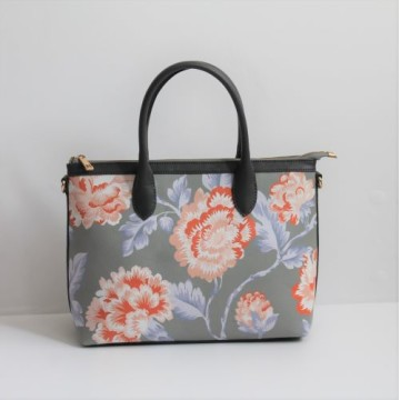 Small  Hand Bag Chrysant Abu abu