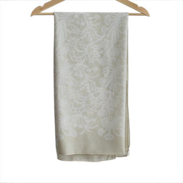 Vanilla Voal Square Lace Cream