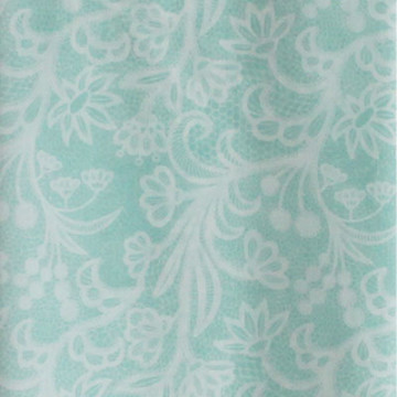 Vanilla Voal Square Lace Green