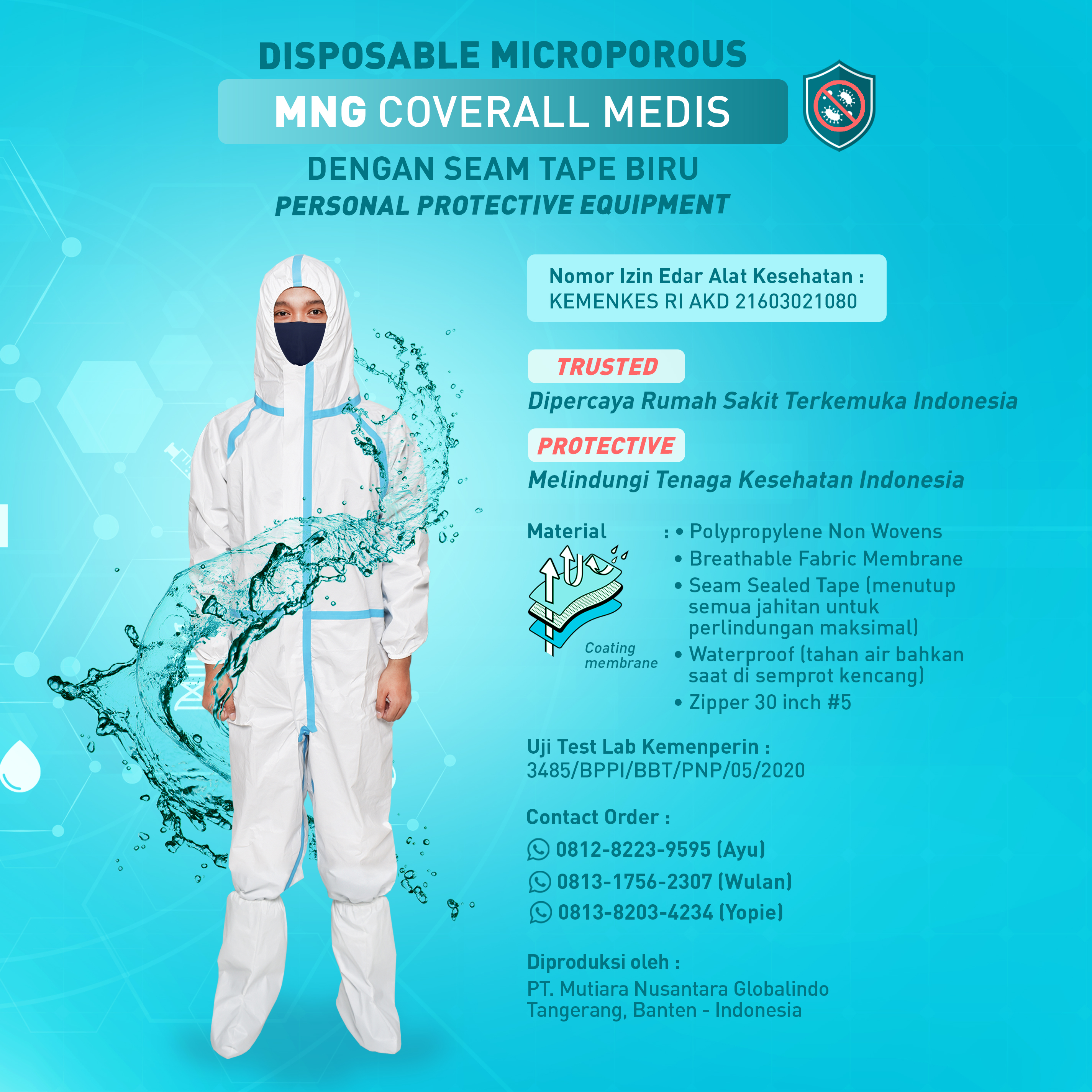 MNG Coverall Medis