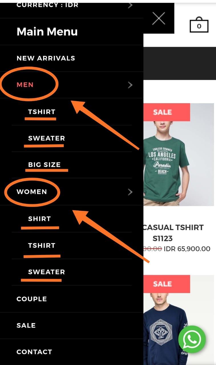 Cara Pemesanan tshirt murah