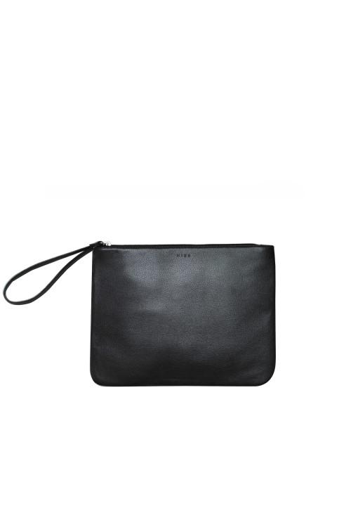 988761868805 Medium Flat Pouch – Black