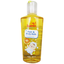 Baby Hair & Body Bath 2in1