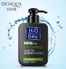 BIOAQUA H2O MEN ONLY OIL CONTROL CLEANSER
