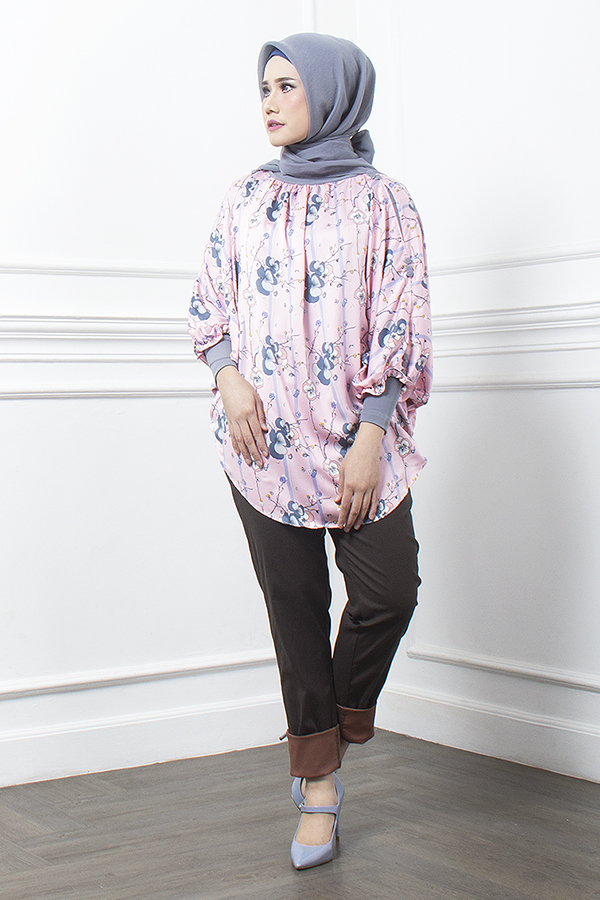 BUTTON TOP PINK