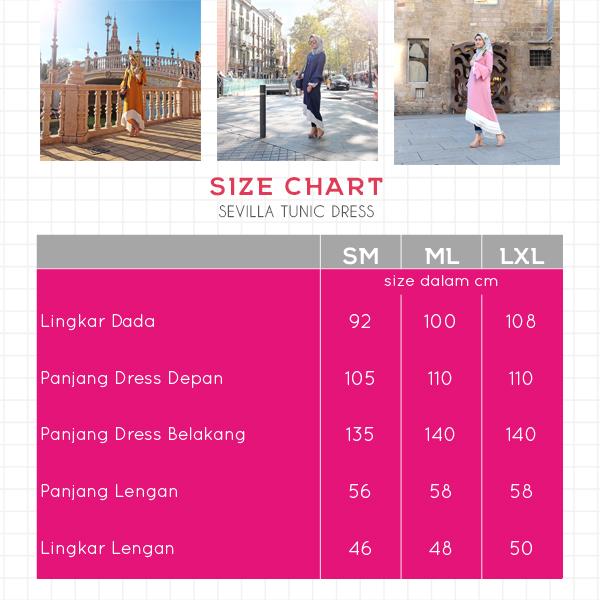 Size Chart Sevilla