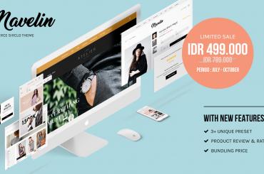 Ganti Tampilan Toko Online Semudah Mengganti Wallpaper di Layar Gadget Dengan Mavelinimage