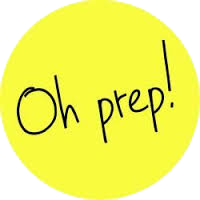 Oh Prep! Decor Logo