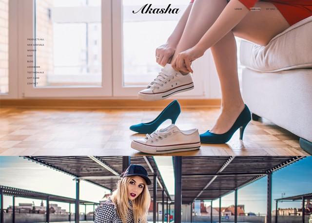 Sepatu Demo Akasha