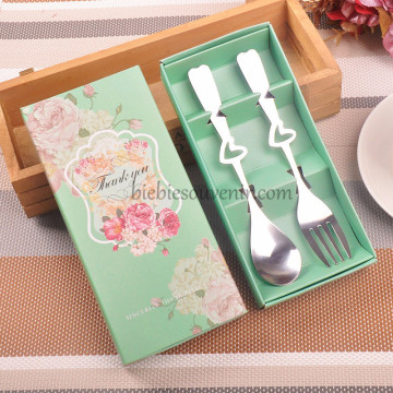 Chic Spoon and Fork Green image
