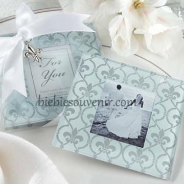 Fleur De Lis Coaster image