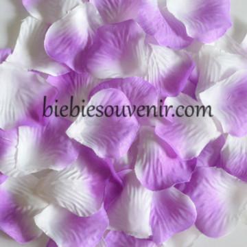 Rose Petals Purple White (7) image
