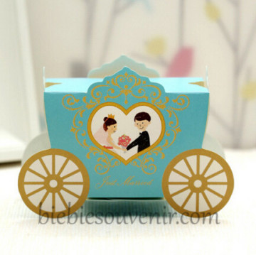 Blue Wedding Carriage Candybox image