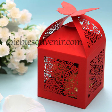 Red Rose Butterfly Candybox image