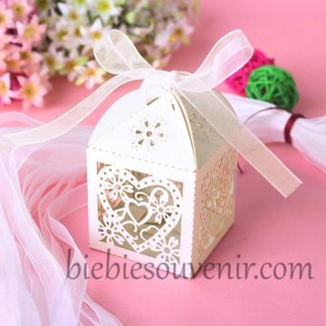Ivory Heart Lasercut Candybox image