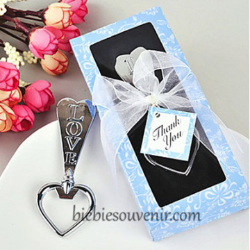 Blue Heart Bottle Opener image