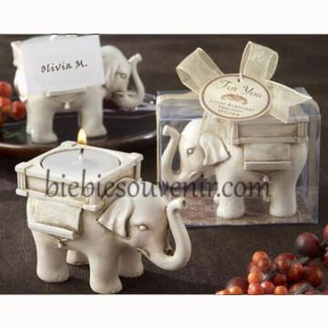 Elephant Candle Holder image