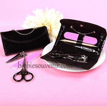 Black Pouch Manicure Set image