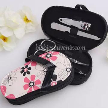 Sandal Floral Manicure Set image