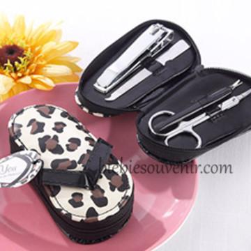 Sandal Cheetah Manicure set image