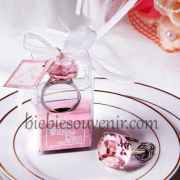 Pink Ring Keychain image