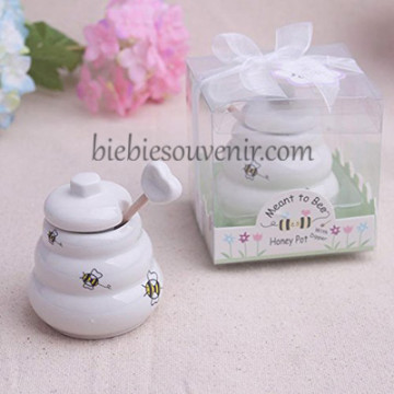 Honeypot Porcelain Jar image