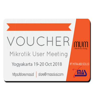 Voucher MUM Indonesia 2018