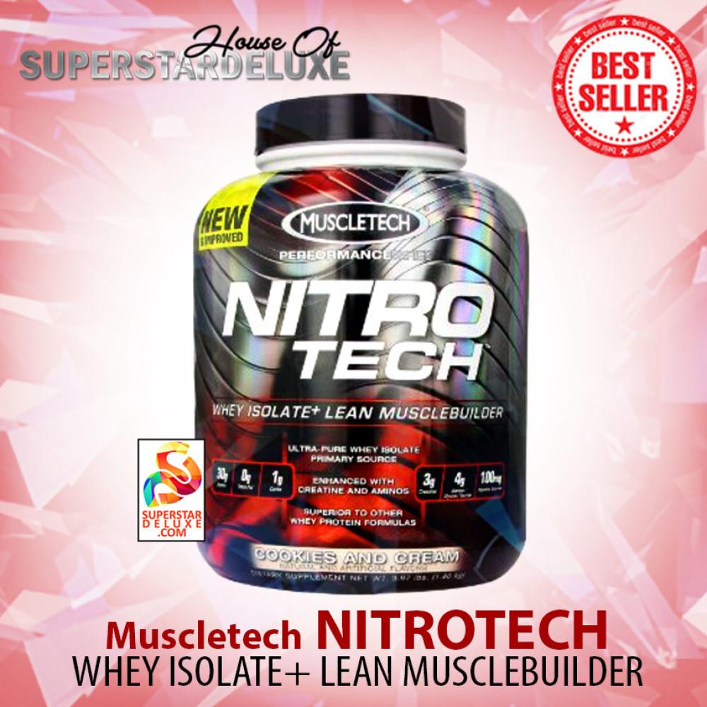 Muscletech Nitrotech 4 Lbs Ultra Premium Protein Matrix Whey Gold 6 Lb