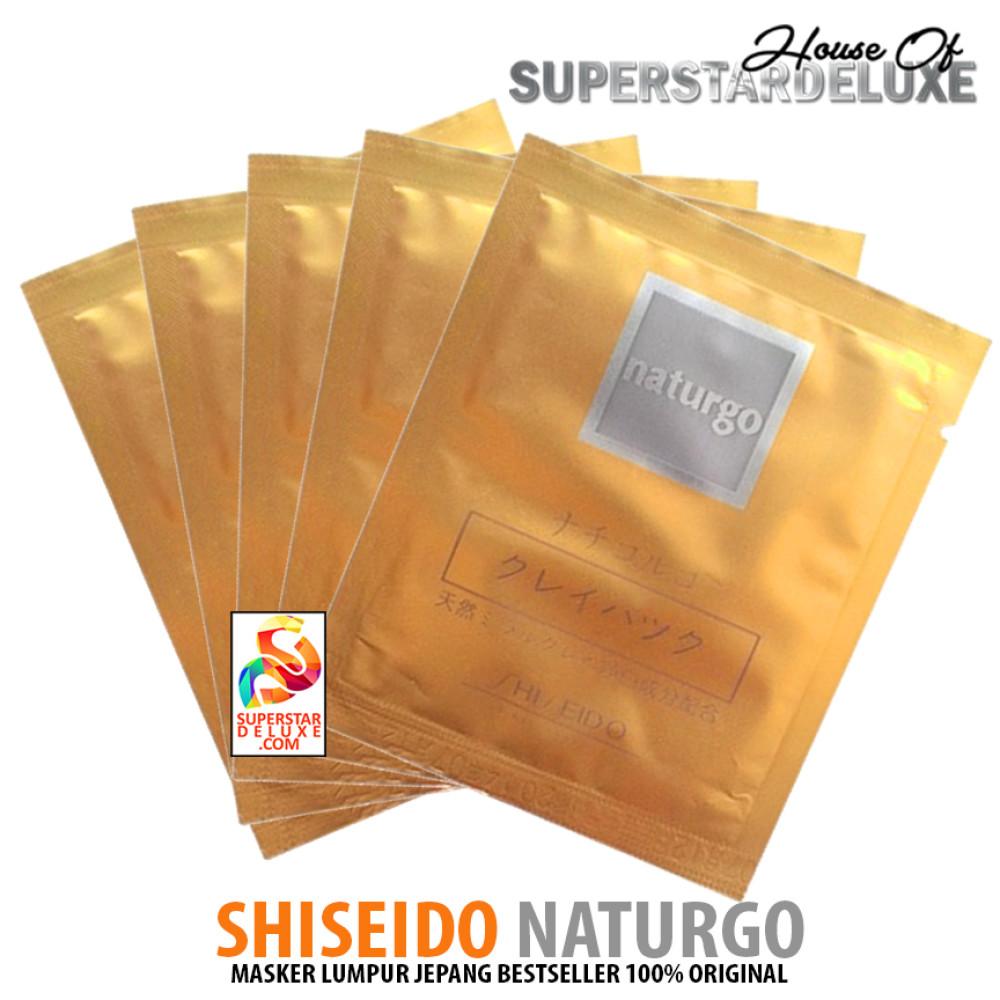 Shiseido Naturgo Masker Lumpur 5 Sachet