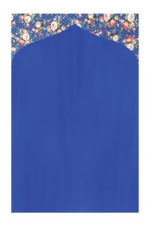 Tiara Prayer Mat 018 Navy