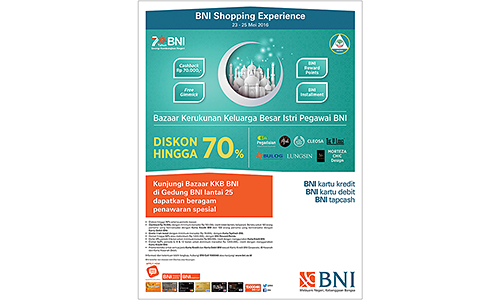 BNI Shopping Experience 2016
