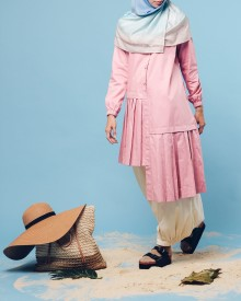 Ghenia Cotton Top Pink