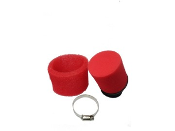 AIR FILTER TK KY-D-184 47MM RED BRIGHT