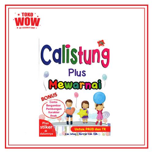 Calistung Plus Mewarnai Untuk Paud Dan Tk