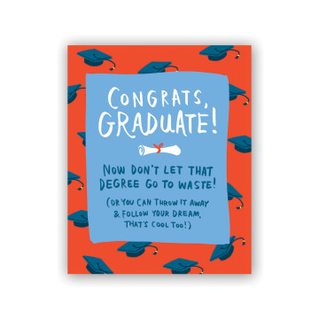 Congrats Graduate Greeting Card