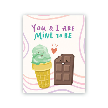 Mint To Be Greeting Card