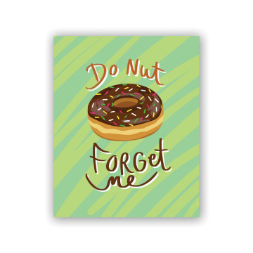 Donut Forget Greeting Card