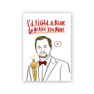 Leonardo DiCaprio Valentine Card