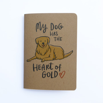 Heart of Gold Pocket Notebook