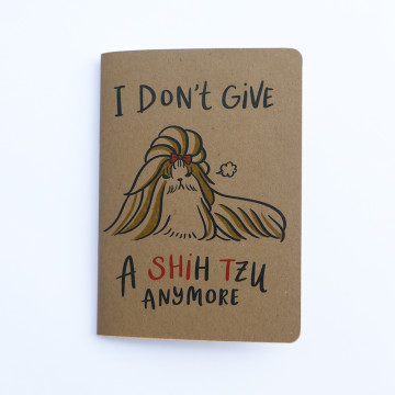 Give Shih Tzu Pocket Notebook