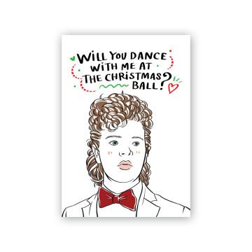 Dustin Christmas Card