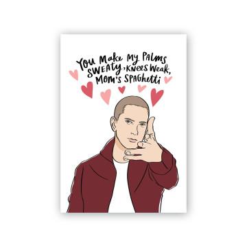 Eminem Valentine Card