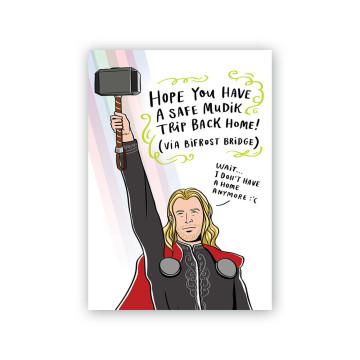 Thor Lebaran Card